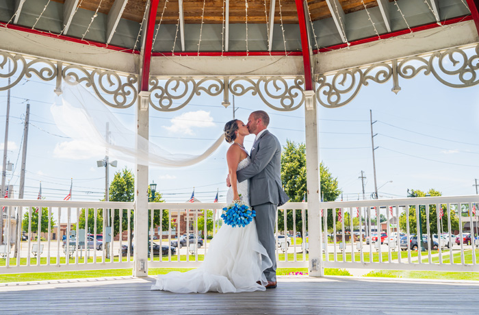 Kelsey & Kyle Gown Reveal | Cuff Link Media