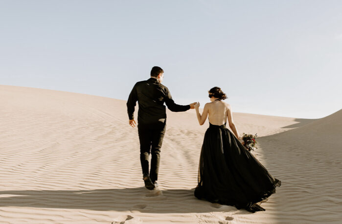 Unconventional Wedding Gowns | Meg Brooke Photography