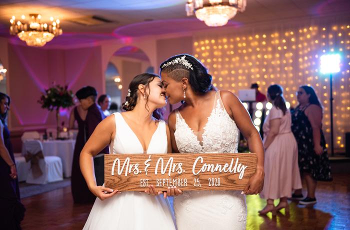 Melissa and Kim's Real Wedding